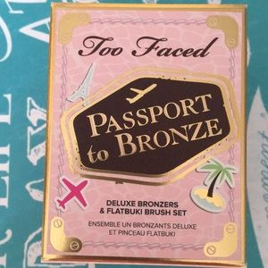 Too Faced PASSPORT to BRONZE Limited Edition